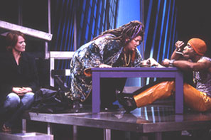 Jennifer Laura Thompson, Lea DeLaria,and Eric Jordan Young in Little Fish(Photo: Joan Marcus)