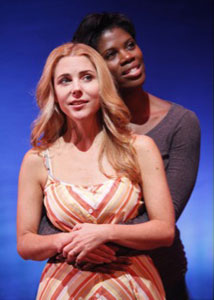 Kerry Butler and Deidre Goodwin