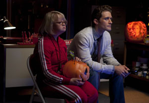 Lauren Potter, Matthew Morrison in Glee