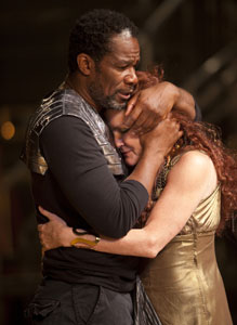 John Douglas Thompson and Kate Mulgrew