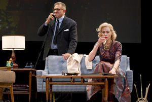 Dan Lauria and Judith Light in Lombardi