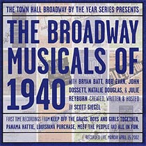 Bayview Records has preserved all of theBroadway by the Year concerts on disc