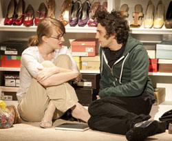 Halley Feiffer and John Magaro in Tigers Be Still (© Joan Marcus)