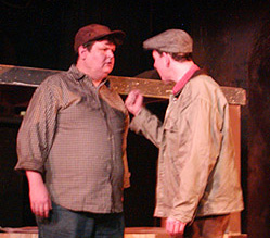 Ed Jewett and Jarel Davidowin Of Mice and Men
