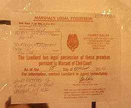 Photo of Marshal's Notice on