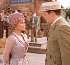 Kristin Chenoweth and Matthew Broderick inthe new TV movie of The Music Man