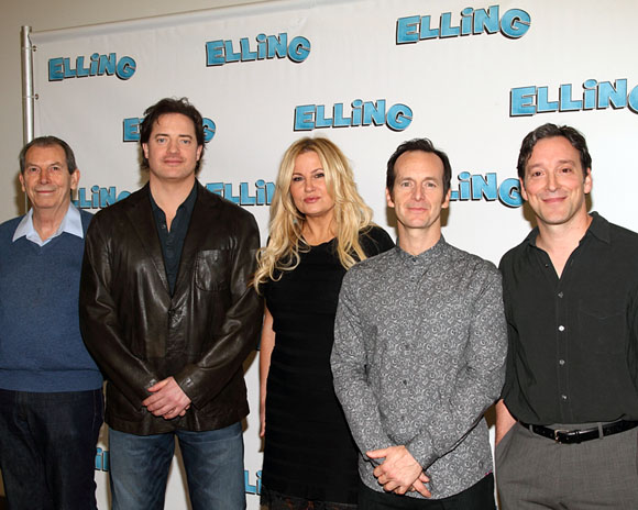 Richard Easton, Brendan Fraser, Jennifer Coolidge, Denis O'Hare, and Jeremy Shamos