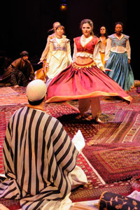 A scene from The Arabian Nights