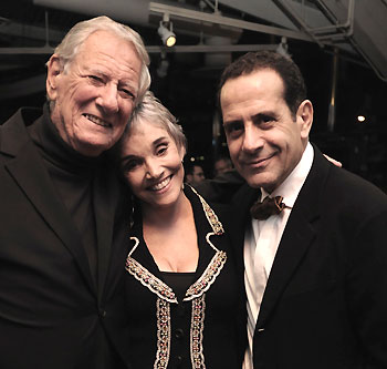 Robert Brustein, Brooke Adams, and Tony Shalhoub