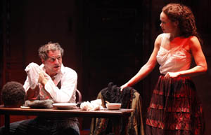 David Lansbury and Amber Gray in Banished Children of Eve