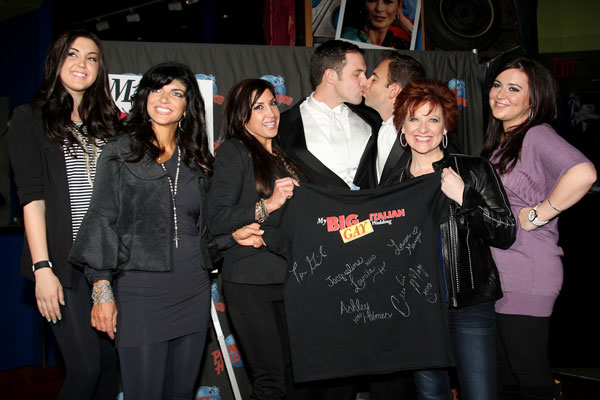 Ashley Holmes, Teresa Giudice, Jacqueline Laurita, Daniel Robinson, Anthony Wilkinson, Caroline Manzo, Lauren Manzo