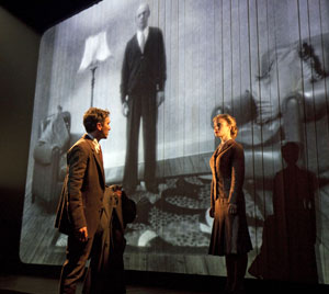 Tristan Sturrock and Hannah Yelland in Brief Encounter