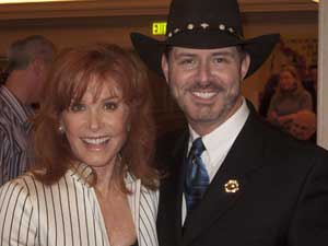 Stefanie Powers and B. Harlan Boll