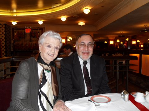 Angela Lansbury and Larry Gerwitz
