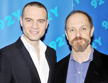 Jordan Roth and David Hyde Pierce