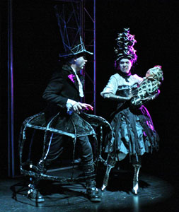 Garett Ross and Vanessa Sabourin in Nevermore