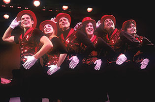 "The cast of Showtune performs ""Mame.""(Photo: © Carol Rosegg)"