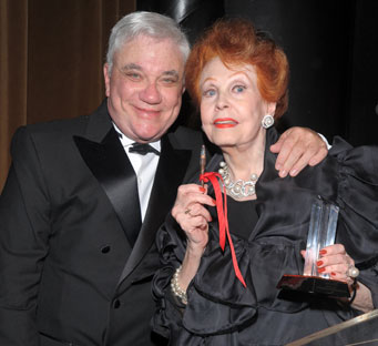 Rex Reed and Arlene Dahl