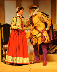 Sarah Woodward and Christopher Benjamin
