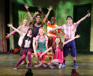 A scene from Freckleface Strawberry the Musical (© Carol Rosegg)