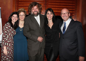 Mandy Hackett, Lisa Kron, Oskar Eustis, Leigh Silverman,