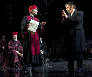Gerry Bamman, Lily Rabe and Al Pacino
