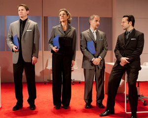 Trent Dawson, Kate Levy, John Plumpis