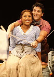 Eleasha Gamble and Nicholas Rodriguez