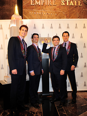 Ryan Jesse, Dominic Nolfi, Jarrod Spector, and Matt Bogart