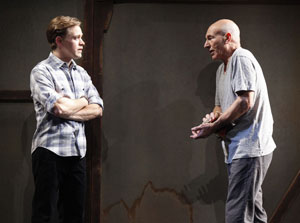 T.R. Knight and Patrick Stewart