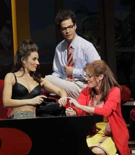 Laura Benanti, Justin Guarini, and Sherie Rene Scottin Women on the Verge of a Nervous Breakdown