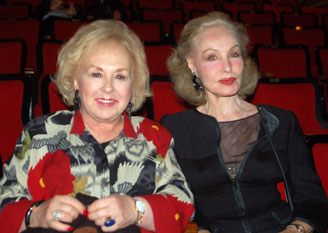 Doris Roberts and Julie Newmar