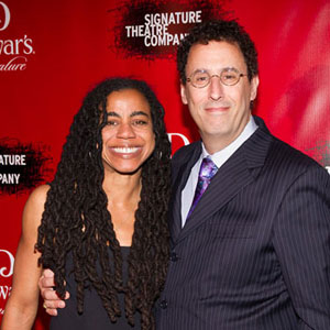 Suzan-Lori Parks and Tony Kushner