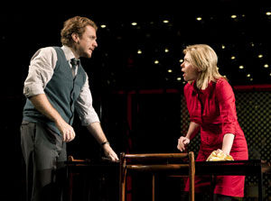 Jason Danieley and Marin Mazzie in Next to Normal