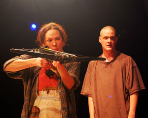 Sarah Lemp and Nick Lawson