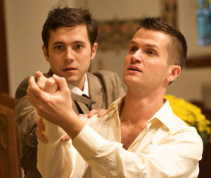 Jacob Pinion and Doug Kreeger in The Last Castrato (© Ashley Anderson)