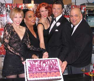 Charlotte d'Amboise, Roz Ryan, Leigh Zimmerman, Brent Barrett and Raymond Bokhour