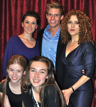 Ramona Mallory, Bernadette Peters, Hunter Ryan Herdlicka