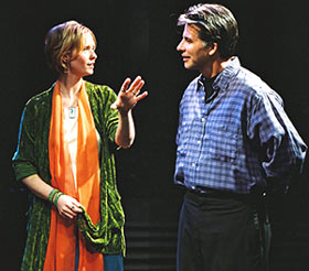 Cynthia Nixon and David Thornton in String Fever