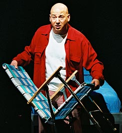 Evan Handler in String Fever(Photo: Scott Wynn)