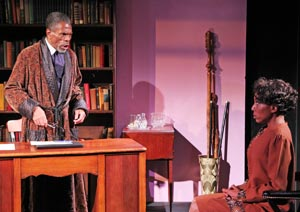 Andre De Shields and Erin Cherry in Knock Me a Kiss