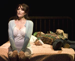Katey Sagal and Matthew Saldivar in Harps and Angels