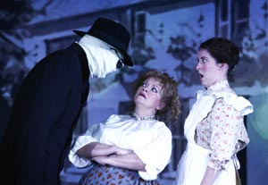 John Gordon Sinclair, Maria Friedman, and Natalie Casey