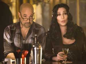 Stanley Tucci and Cher in Burlesque