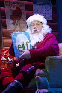 George Wendt in Elf