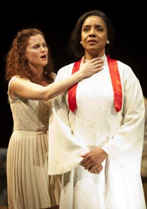 Autumn Hurlbert and Phylicia Rashad