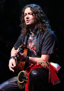 Constantine Maroulis in Rock of Ages (© Joan Marcus)