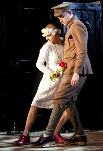 Patrycja Kujawska and Robert Luckay