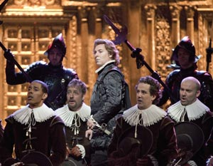 Roberto Alagna and company in Don Carlo