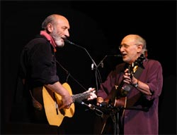 Noel Paul Stookey and Peter Yarrow